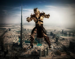 Giant Shao Kahn 2 by GiantBeltway
