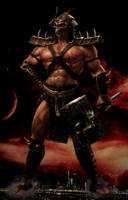 Shao Kahn, Konqueror of the Realms by GiantBeltway