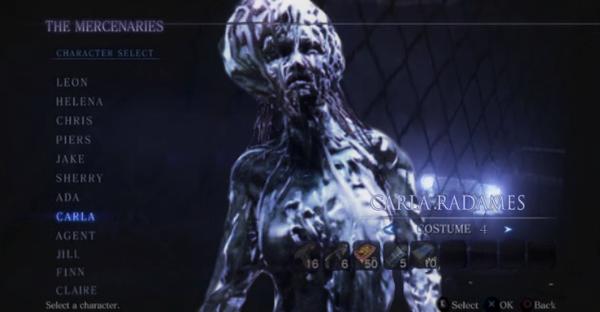 Carla Resident Evil 6 Mercenaries Related Keywords Suggestions