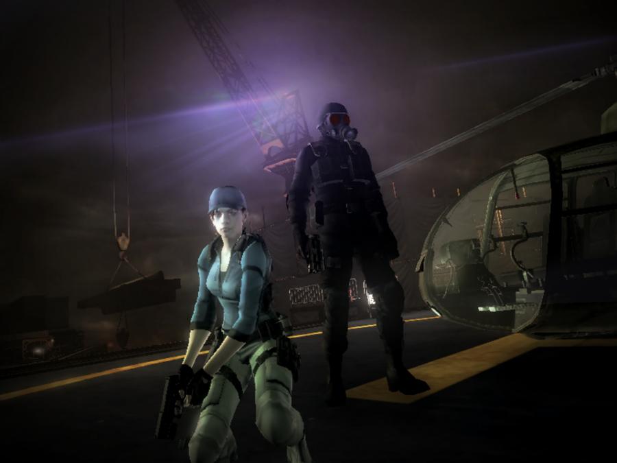 Jill And Hunk by RPGxplay