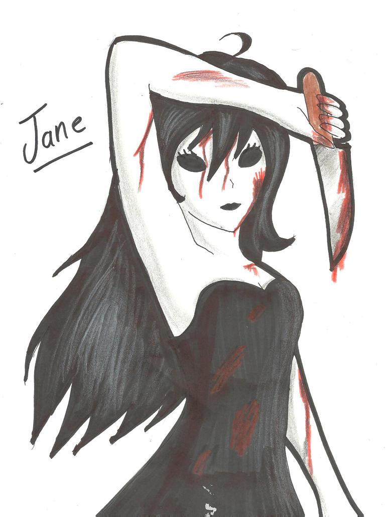 Anime jane the killer