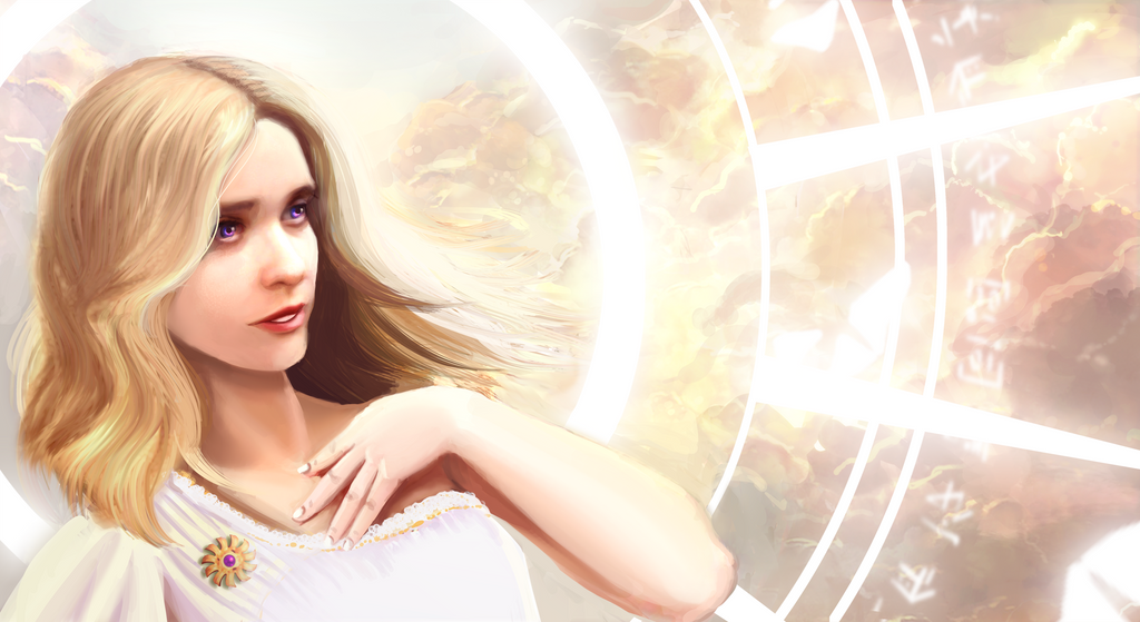 Beautiful Creatures - Lena of the Light by DLDigital