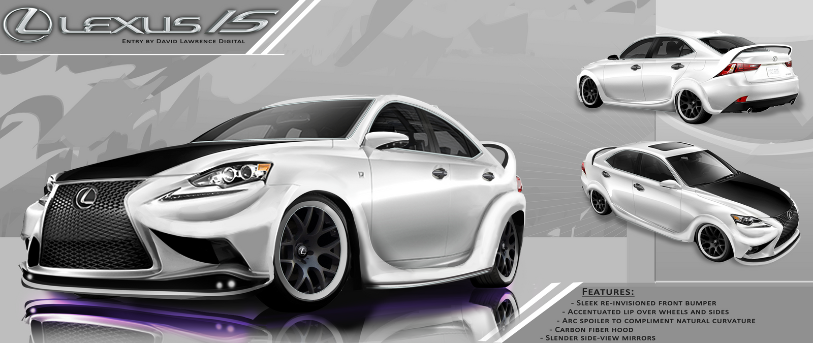 Lexus IS contest by DLDigital