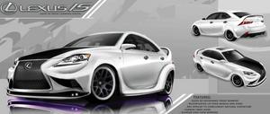 Lexus IS contest