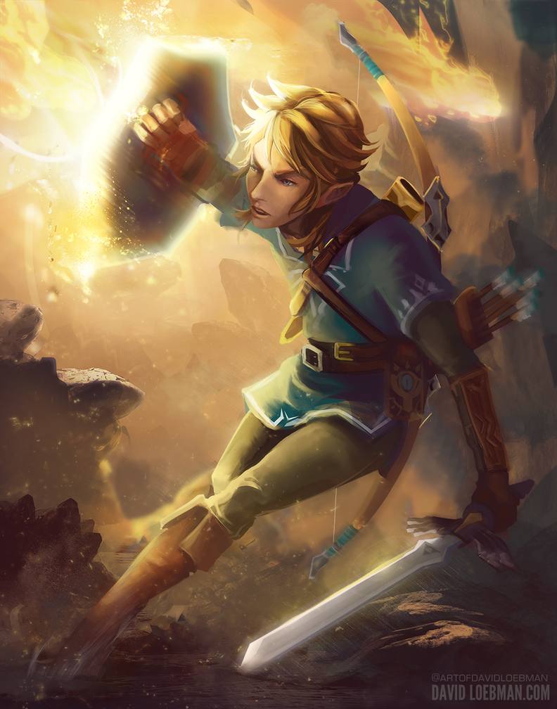 Hero of the Wild - BotW Fanart