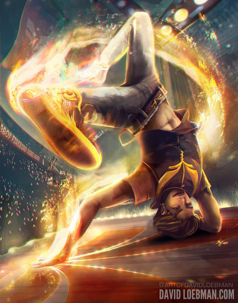 Kicking Up a Firestorm - Arcane Idol OC Challenge