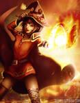 Explosion! - Megumin Fanart