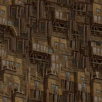 Wood Building Texture