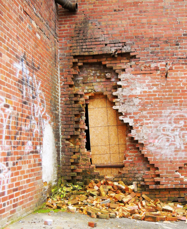 Hole In The Brick Wall - DuBois PA by RLS0812 on DeviantArt