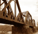 Old Train Bridge - Clearfield PA