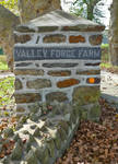 Valley Forge Manor Entrance Sign - Pennsylvania