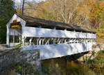Wooden Covered Bridge At Valley Forge Pennsylvania
