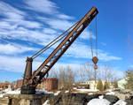 Old Rusty Loading Crane 1 Quakerstown Pennsylvania