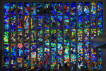 Stained Glass Window At The Shrine - Doylestown PA