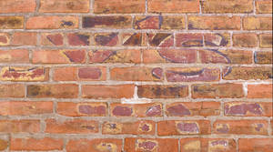 Old Graffiti Brick Wall - Doylestown Pennsylvania