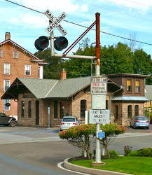 Railroad Crossing Sign 2 - Milford New Jersey