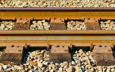 Railroad Tracks Ties 2 -Valley Forge Pennsylvania