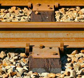 Railroad Track Tie - Valley Forge Pennsylvania