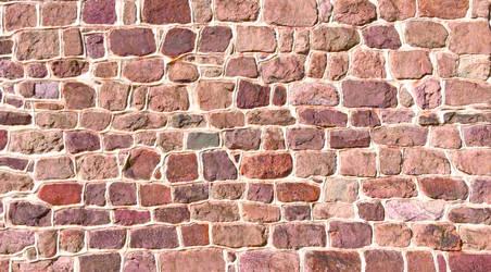 Stone Facade Wall - Valley Forge Pennsylvania