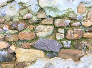 Stones In Old Wall - Valley Forge Pennsylvania