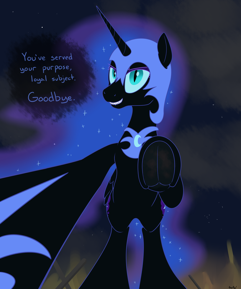 Request Nightmare Moon Rises By Rapidstrike On Deviantart