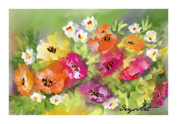 Bouquet 3 by IrysArt