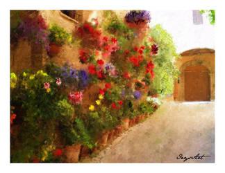 Italy Yard by IrysArt