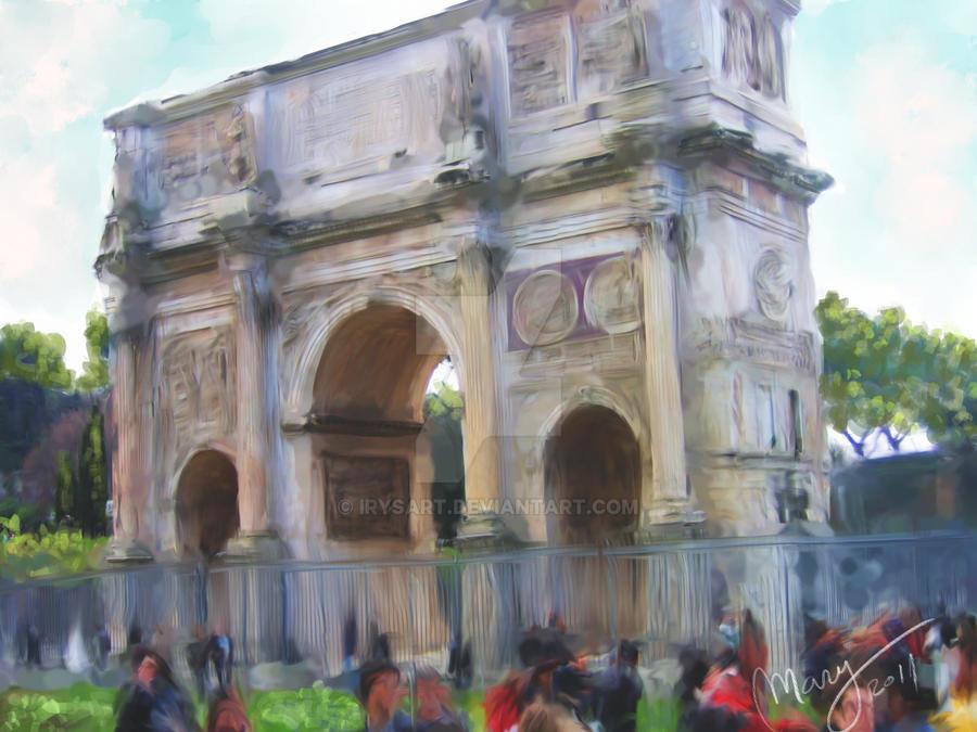 Arco del Triunfo by IrysArt