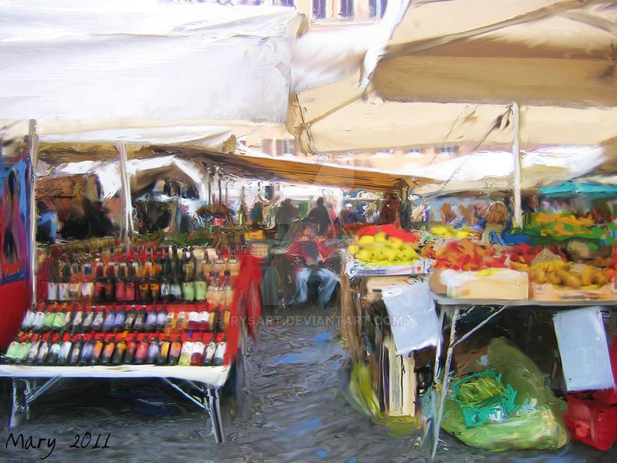 Campo dei Fiori by IrysArt
