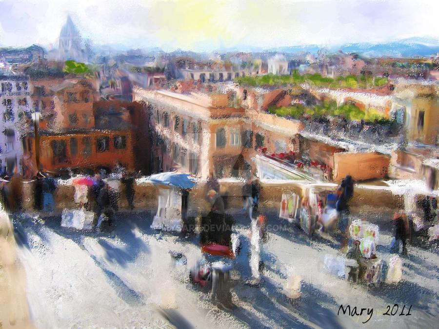 Plaza de Espana by IrysArt