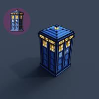 SimpleJPC-16 TARDIS but its 3D