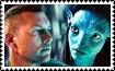 Jake and Neytiri Stamp by DarknessMyrkur