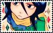 Rukia Stamp by DarknessMyrkur
