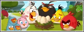 Angry Birds Stamp by DarknessMyrkur