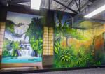 Urban Forest Graffiti Mural by Setitoffmurals