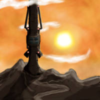 Space Elevator by Jetrunner