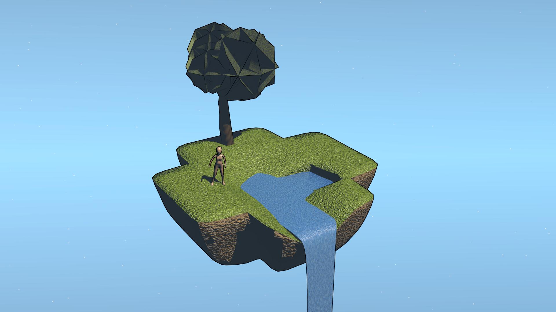 Popular Wallpaper Minecraft Simple - simple_sky_island_by_jetrunner-d6tkzuz  Graphic_976567.jpg
