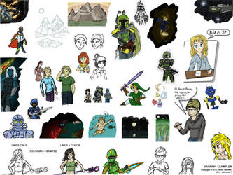 iScribble.net Examples Compilation 1