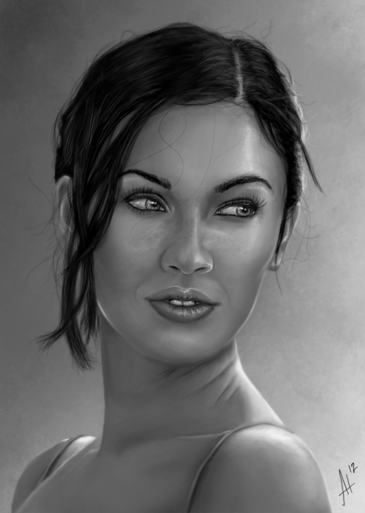 Megan Fox by MinioN2