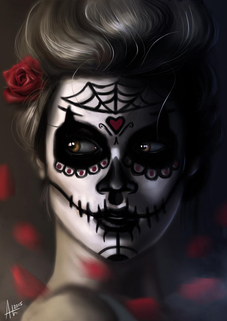 La chica de la muerte - Calavera by MinioN2