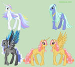 MLP OC elemental adoptables - closed