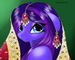MLP OC Arabian Night by snakehands