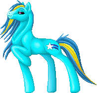 MLP OC Shooting Star sprite by snakehands
