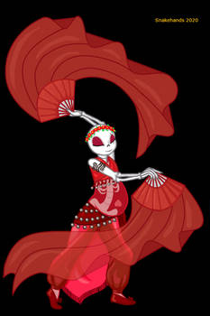 Cherry dancing - fanart for Dance Magick Dance