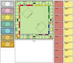 Blank Monopoly Board