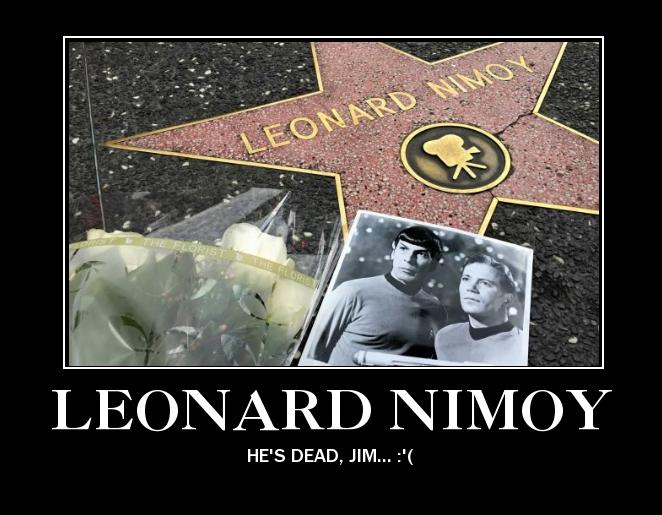 RIP Leonard Nimoy by clampfan101