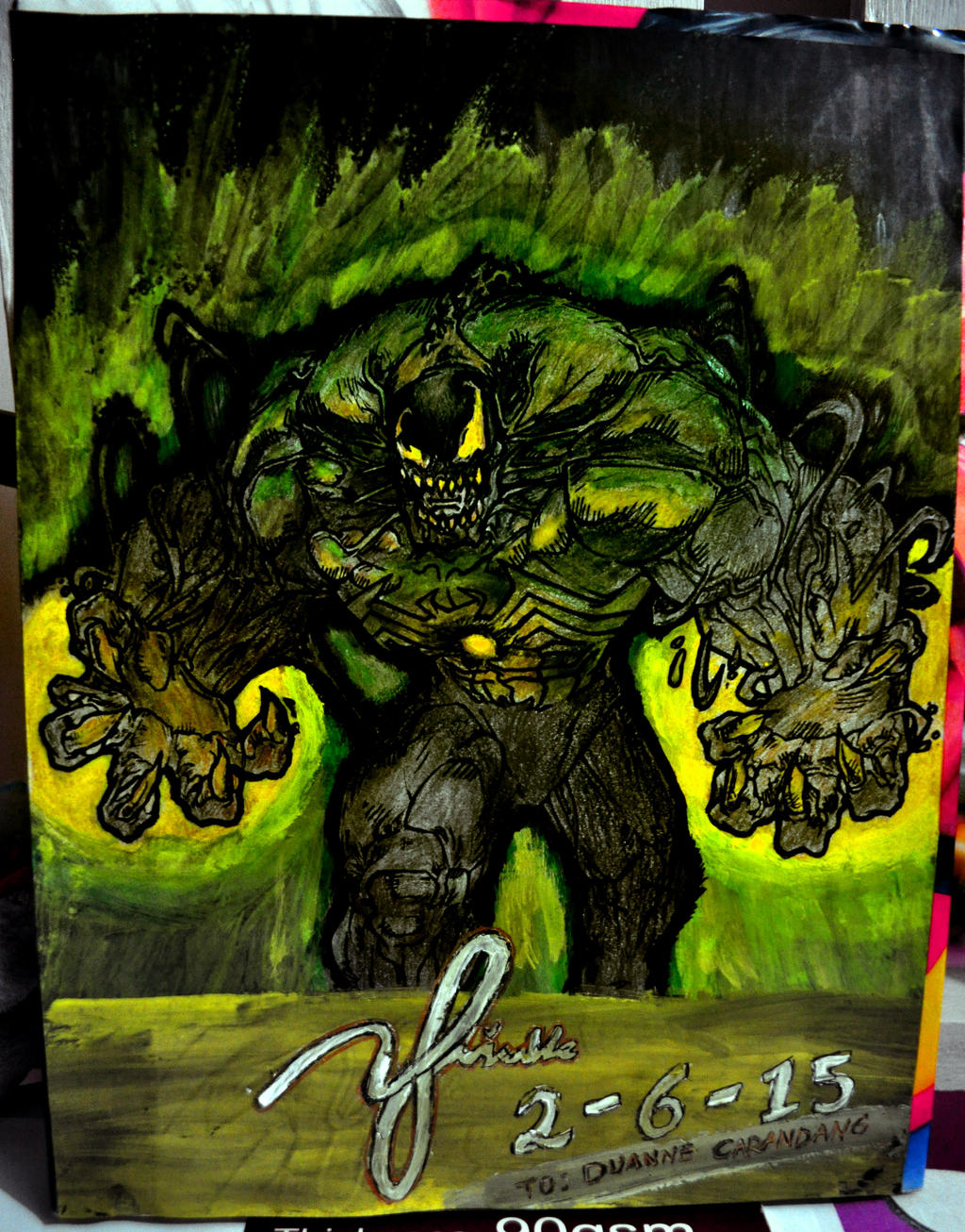 Venom Green 1s Venom+Green Lantern by...