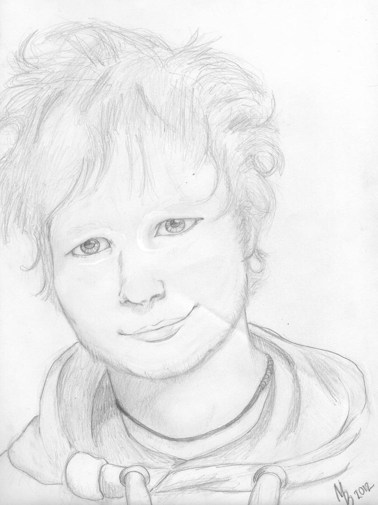 One Direction Kleurplaten Printen Ed Sheeran Portrait By Artiifex On Deviantart