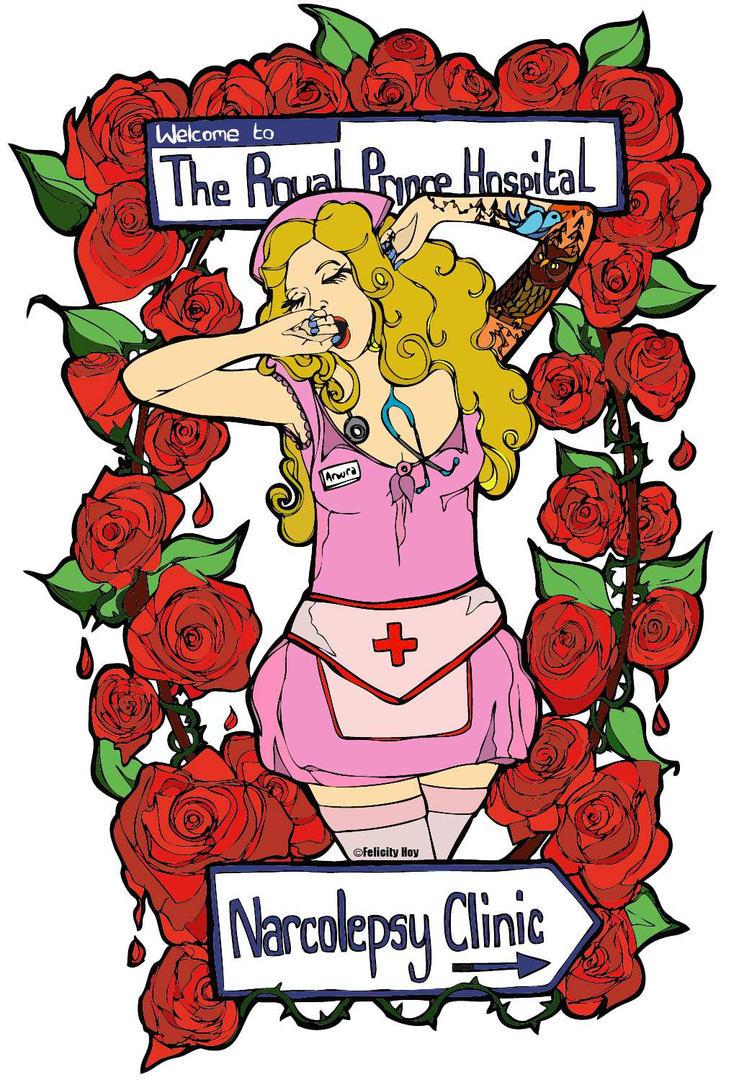 Narcolepsy Nurse by FelicityHoy