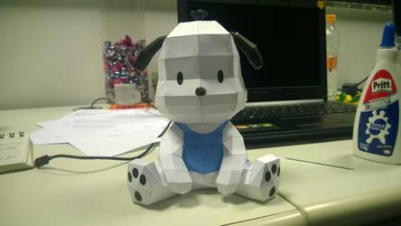Pochacco (Hello Kitty) Papercraft